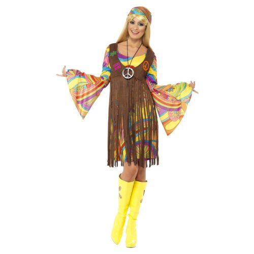 1960s Groovy Lady, Brown