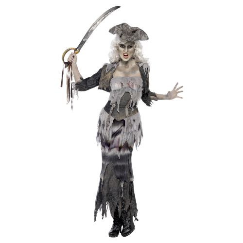 Ghost Ship Ghoulina Costume, Grey
