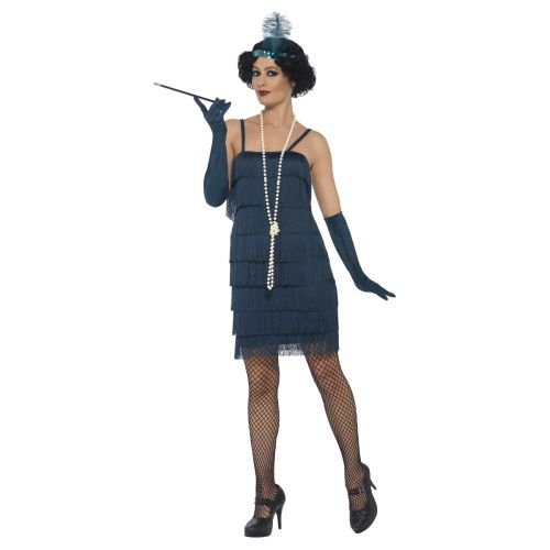 Flapper Costume, Green