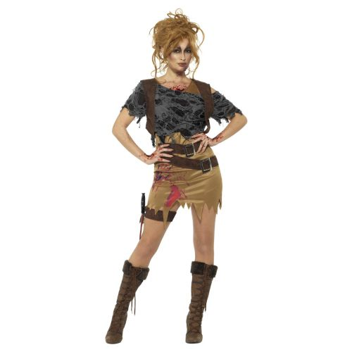 Deluxe Zombie Huntress Costume