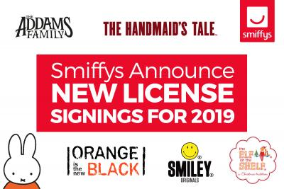 R H Smith & Sons Announce New License Signings for 2019