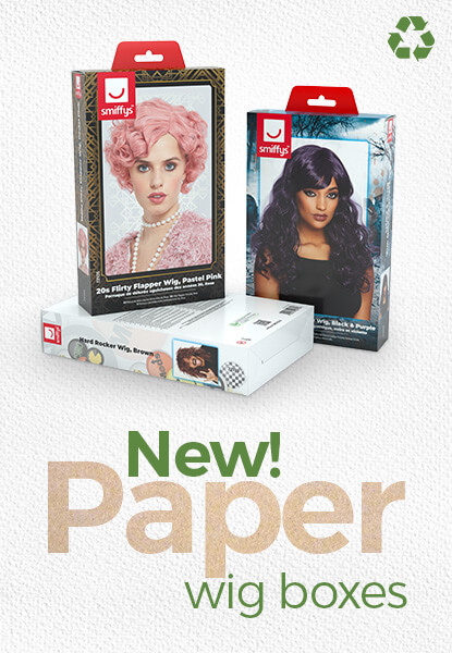 New Paper Wig Boxes